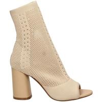 Pantofi Femei Sandale  Tiffi  crema-crema