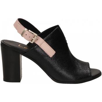 Pantofi Femei Sandale  Lemaré FIESOLE nero-rosa-3390