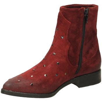 Pantofi Femei Botine Fabbrica Dei Colli PLAY FOD.PELLE 00034-bordeaux
