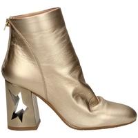 Pantofi Femei Botine Tiffi  tawny-platino