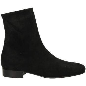 Pantofi Femei Ghete Lorenzo Masiero STRECH VELOUR nero-nero