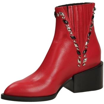 Pantofi Femei Botine Giampaolo Viozzi MAXIME scoot-rosso