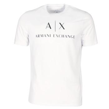 Îmbracaminte Bărbați Tricouri mânecă scurtă Armani Exchange 8NZTCJ-Z8H4Z-1100 Alb