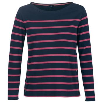 Îmbracaminte Femei Tricouri cu mânecă lungă  Armor Lux BRIAN Bleumarin / Roz