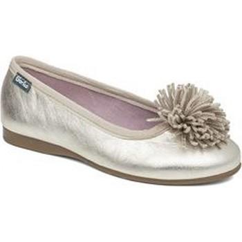 Pantofi Fete Balerin și Balerini cu curea Gorila 23657-24 Auriu