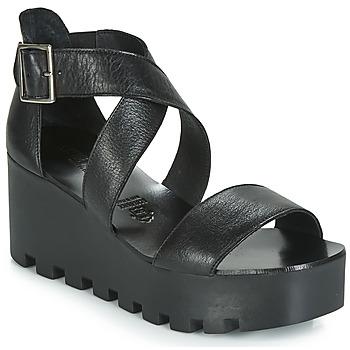 Pantofi Femei Sandale și Sandale cu talpă  joasă Sweet Lemon SUBWAY Negru