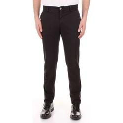 Îmbracaminte Bărbați Pantalon 5 buzunare Mason's MILANO-CBE024 Nero