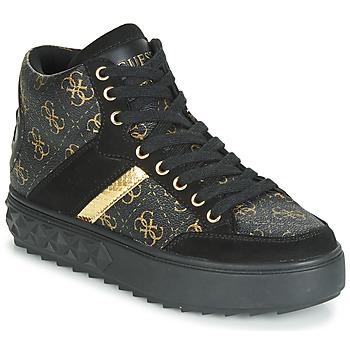 Pantofi Femei Pantofi sport stil gheata Guess FIXIN Negru