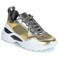 Pantofi Femei Pantofi sport Casual Guess FURNER Argintiu / Auriu