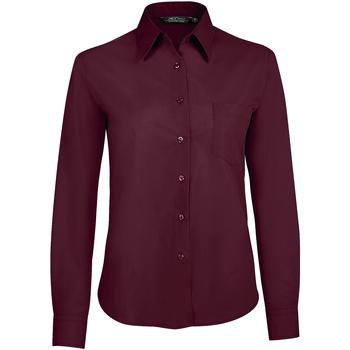 Îmbracaminte Femei Cămăși și Bluze Sols EXECUTIVE POPELIN WORK violeta