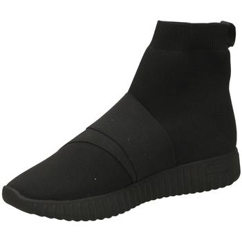 Pantofi Femei Pantofi sport stil gheata Fessura DINGHY KNIT black-nero