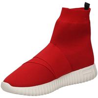 Pantofi Femei Pantofi sport stil gheata Fessura DINGHY KNIT red-rosso