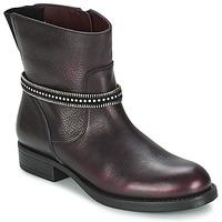 Pantofi Fete Ghete Unisa GEMA Roșu-bordeaux