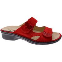 Pantofi Femei Papuci de vară Calzaturificio Loren LOM2772ro rosso