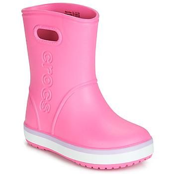 Pantofi Fete Cizme de cauciuc Crocs CROCBAND RAIN BOOT K Roz