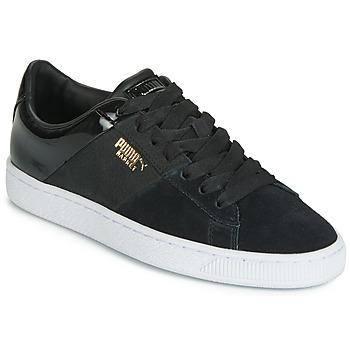 Pantofi Femei Pantofi sport Casual Puma BASKET REMIX Negru / Auriu