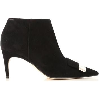 Pantofi Femei Botine Sergio Rossi A80000 MCAZ01 1000 nero