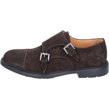 Pantofi Bărbați Pantofi Oxford  Zenith classiche camoscio Marrone