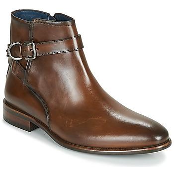 Pantofi Bărbați Ghete Brett & Sons ROBERTO Coniac
