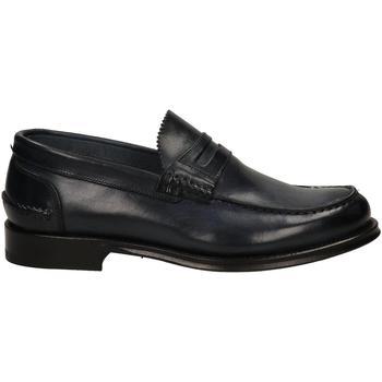 Pantofi Bărbați Mocasini Brecos VITELLO blu