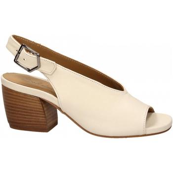 Pantofi Femei Sandale  Salvador Ribes GRETA HARLEY bianco