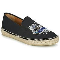 Pantofi Bărbați Espadrile Kenzo ESPADRILLE ELASTIQUE TIGER HEAD Negru