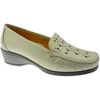Pantofi Femei Mocasini Calzaturificio Loren LOK4002be rosso