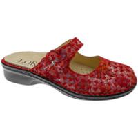 Pantofi Femei Papuci de vară Calzaturificio Loren LOM2709ro rosso