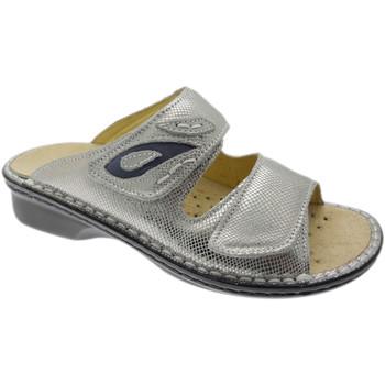 Pantofi Femei Papuci de vară Calzaturificio Loren LOM2724ar grigio