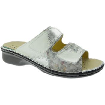 Pantofi Femei Papuci de vară Calzaturificio Loren LOM2768bi grigio