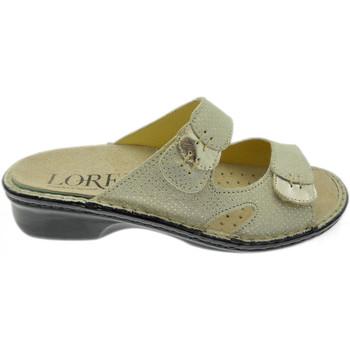 Pantofi Femei Papuci de vară Calzaturificio Loren LOM2772op grigio