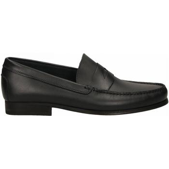 Pantofi Bărbați Mocasini Antica Cuoieria SIENA blu