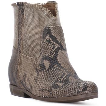 Pantofi Femei Botine Priv Lab PITONE ROCCIA Bianco
