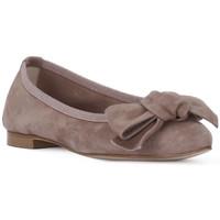 Pantofi Femei Balerin și Balerini cu curea Priv Lab CAMOSCIO CIPOLLA Rosa