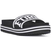 Pantofi Femei Șlapi Fornarina BEACH 2 BLACK Nero