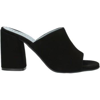 Pantofi Femei Papuci de vară Albachiara NC82 Black