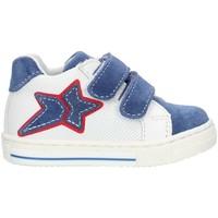 Pantofi Fete Pantofi sport stil gheata Balocchi 493265 Blue and white
