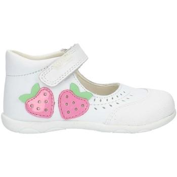 Pantofi Fete Balerin și Balerini cu curea Pablosky 001600 White