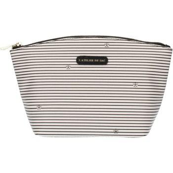 Genti Femei Penare Pash Bag 8385Gisele Ice with black stripes