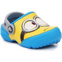 Pantofi Copii Saboti Crocs Crocsfunlab Minions Clog 204113-456 yellow, blue