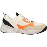 Pantofi Bărbați Pantofi sport Casual Cromier TECNOnylon white-orange