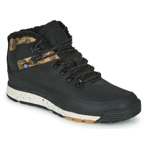 Pantofi Bărbați Ghete Element DONNELLY Negru / Camuflaj
