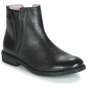 Pantofi Fete Ghete Acebo's 9671-NEGRO-T Negru
