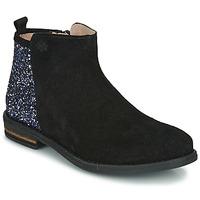 Pantofi Fete Ghete Acebo's 8035-NEGRO Negru