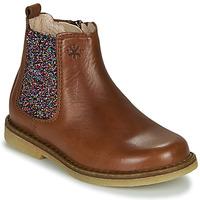 Pantofi Fete Ghete Acebo's 5274-CUERO-J Coniac