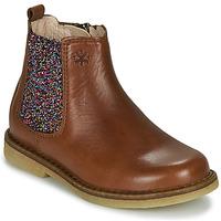 Pantofi Fete Ghete Acebo's 5274-CUERO Maro