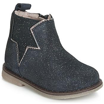 Pantofi Fete Ghete Acebo's MAKALU Albastru
