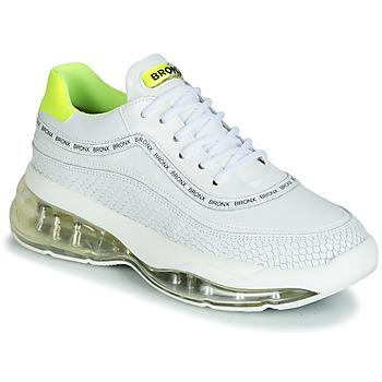 Pantofi Femei Pantofi sport Casual Bronx BUBBLY Alb / Galben