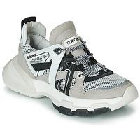 Pantofi Femei Pantofi sport Casual Bronx SEVENTY STREET Gri / Alb / Negru