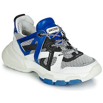 Pantofi Femei Pantofi sport Casual Bronx SEVENTY STREET Alb / Negru / Albastru